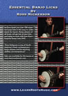 essential banjo licks instruction